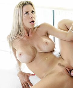 Sexy Blonde Milf Alexis Fawx has all the fun!